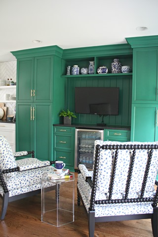 our green kitchen keeping room emily a clark. Black Bedroom Furniture Sets. Home Design Ideas