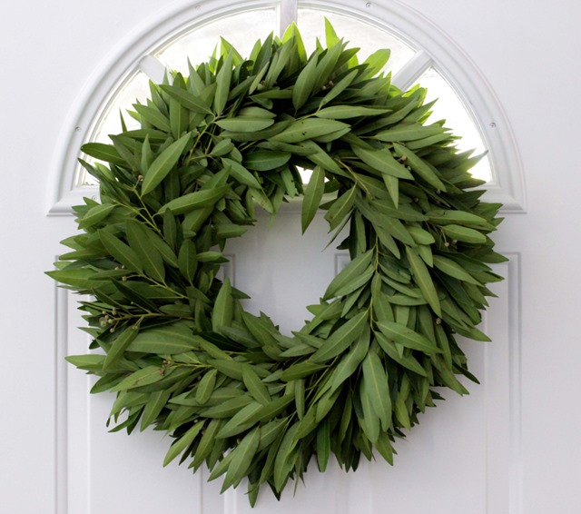 Bay Leaf Wreath on Etsy