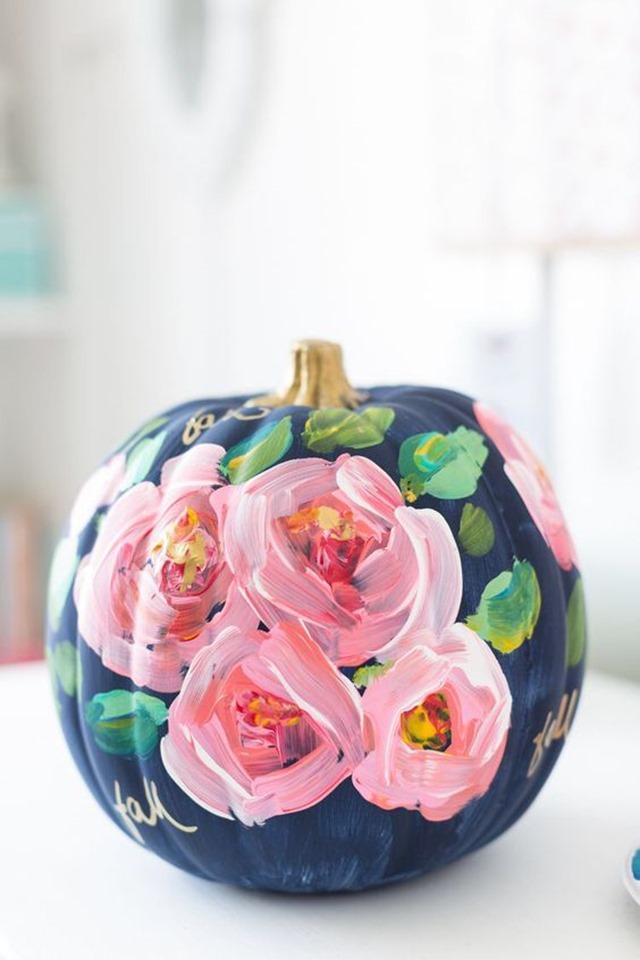 floral_pumpkin