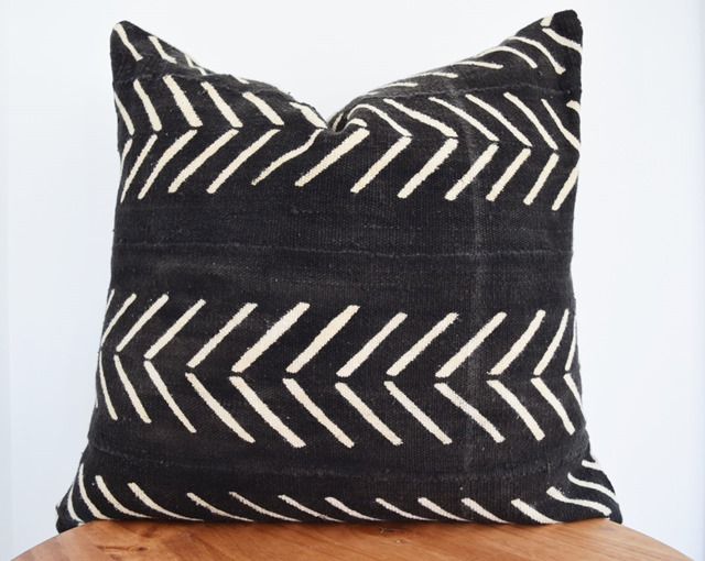 mudcloth pillows on Etsy