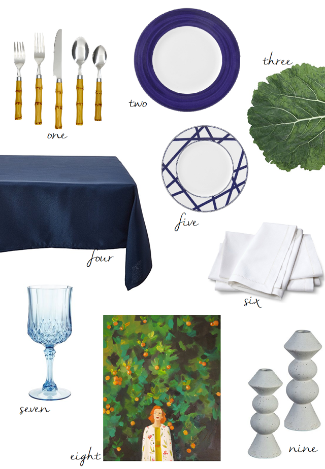 Thanksgiving-table-items