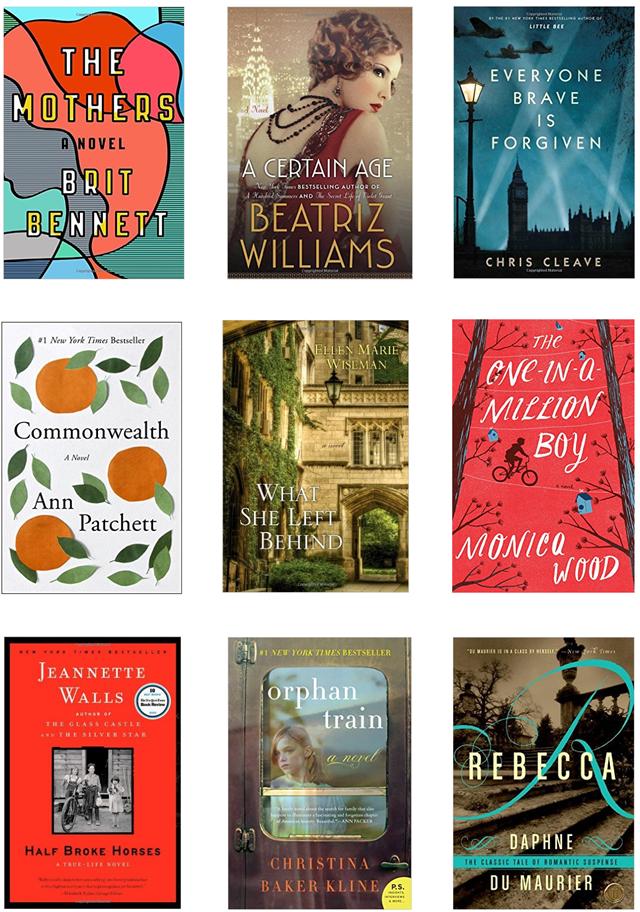Books I've read lately  (Fall 2016)