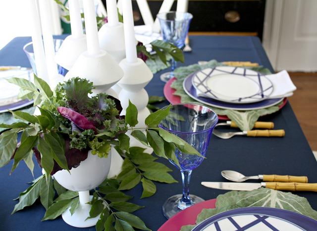 cabbage-Thanksgiving-centerpiece