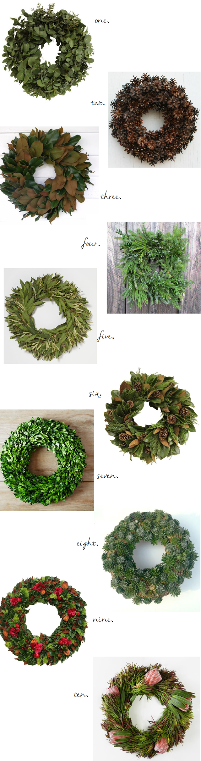 10 Thanksgiving-to-Christmas Wreaths - Emily A. Clark