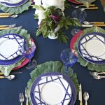My Navy + Plum Thanksgiving Table