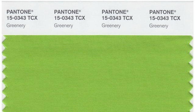 Pantone color of the year greenery-2