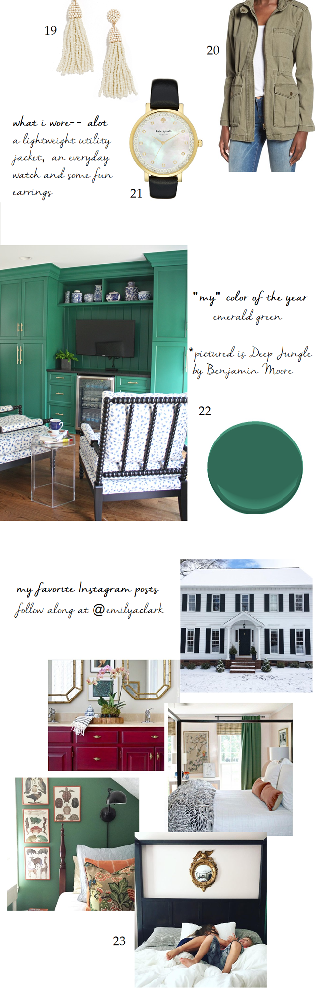 2016 favorite things fashion color IG