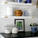 What To Put On Open Kitchen Shelves {Video}