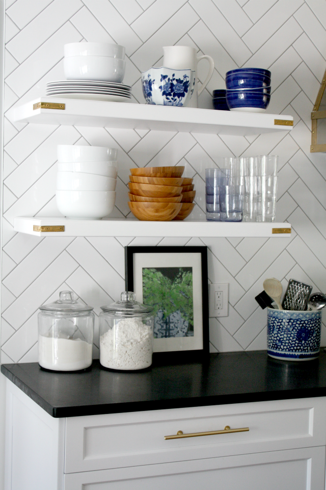 What To Put On Open Kitchen Shelves Video Emily A Clark