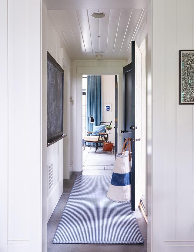 blue-white-hallway