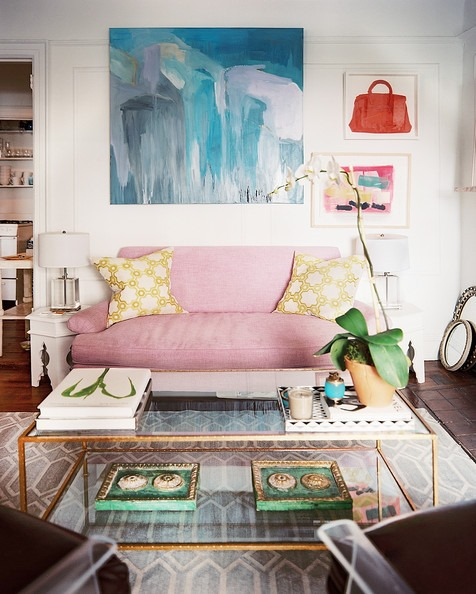 Design dilemmas archives emily a clark for Behind the couch wall decor