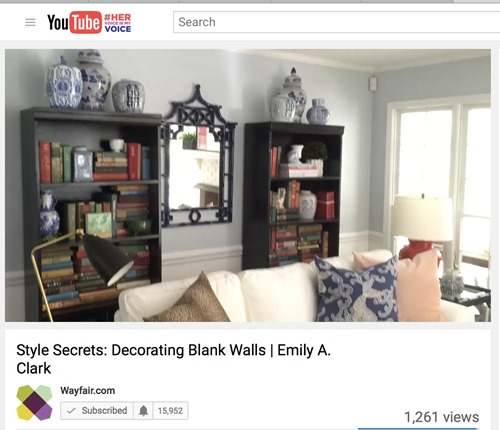 wayfair video