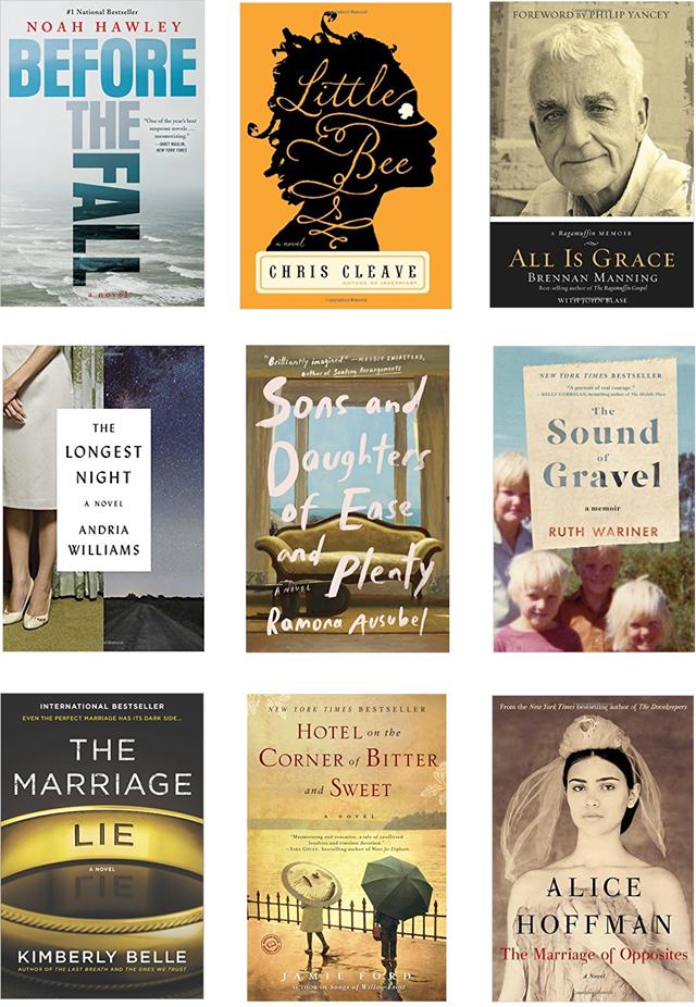 Books I've Read Lately Spring 2017