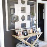 Black and White DIY Art For My Living Room
