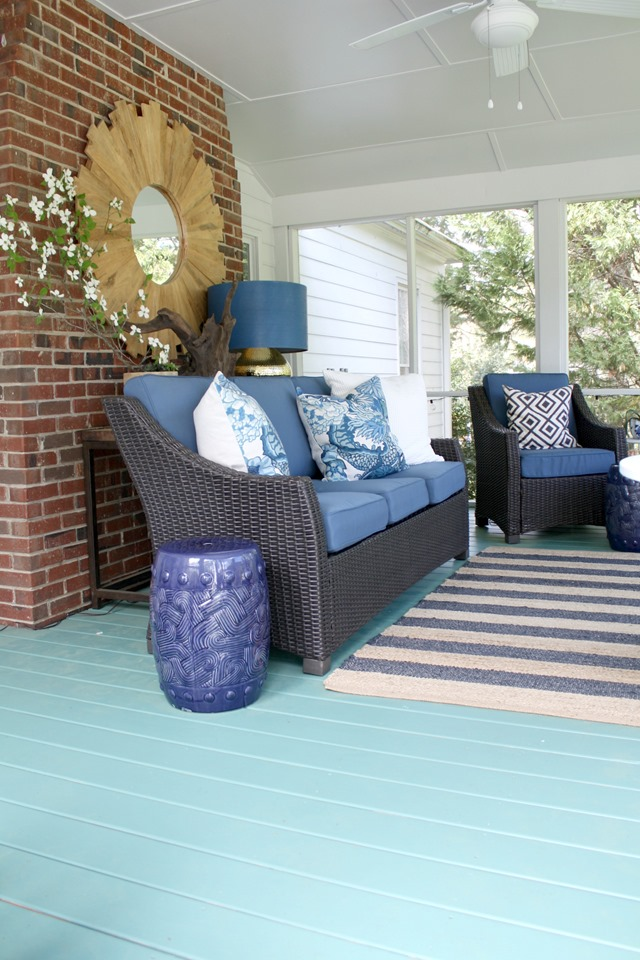 green-painted-porch-floor