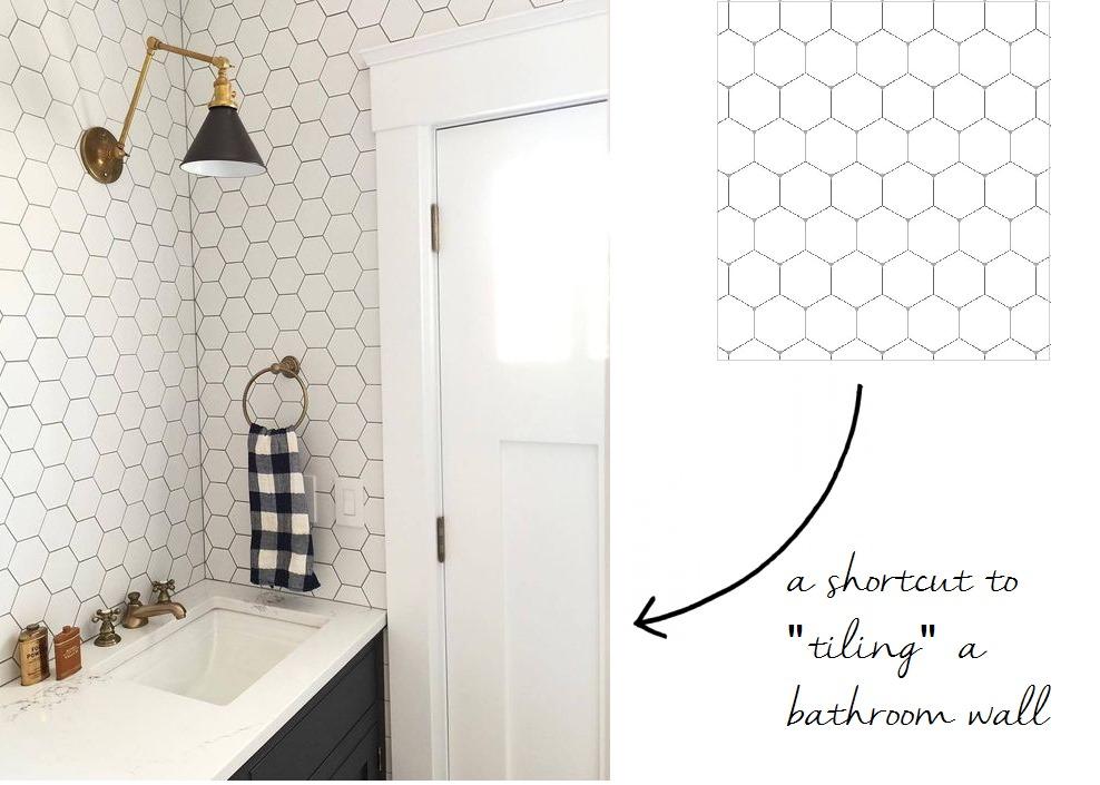 12 peel stick wallpapers that don t look like wallpaper - Easy peel off wallpaper ...