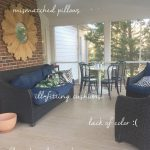 Our Screened Porch Makeover {Reveal}