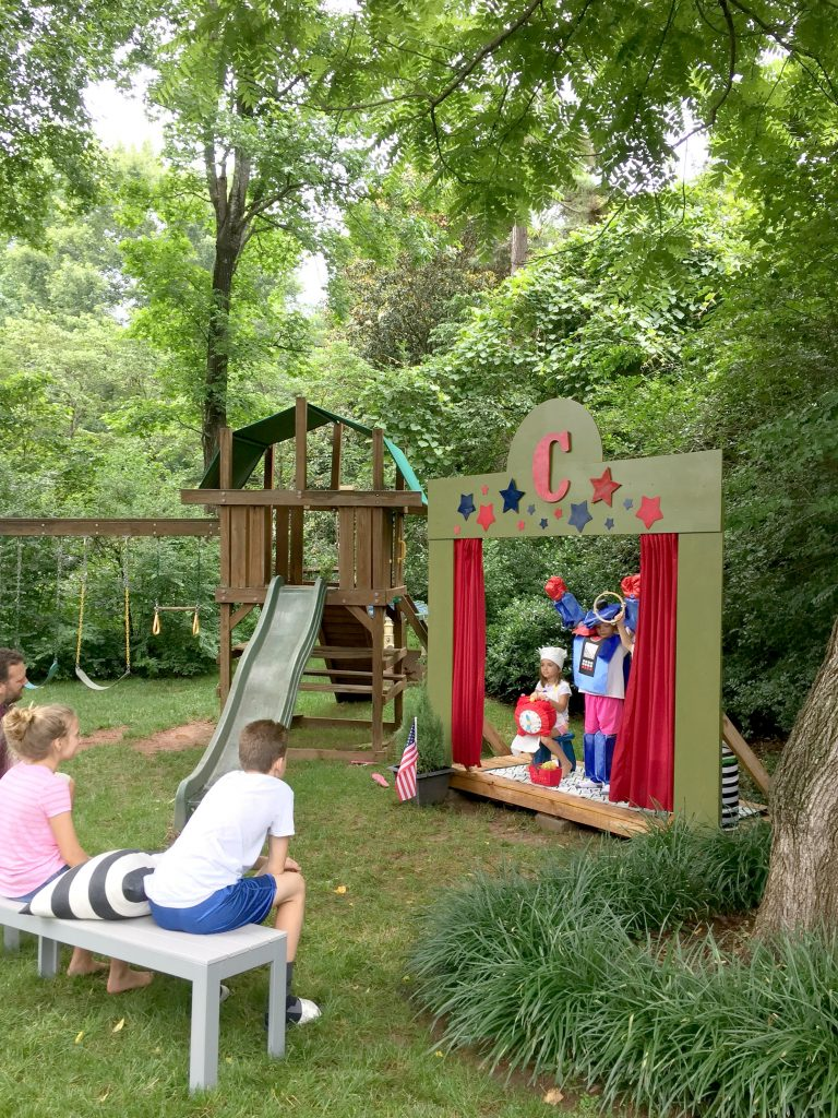 Our (DIY) Kids' Backyard Theater - Emily A. Clark