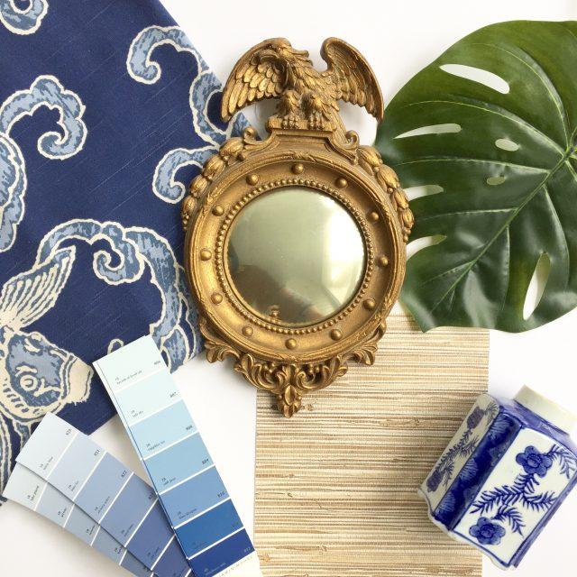 blue-white-dining-room-design