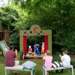 Our (DIY) Kids' Backyard Theater