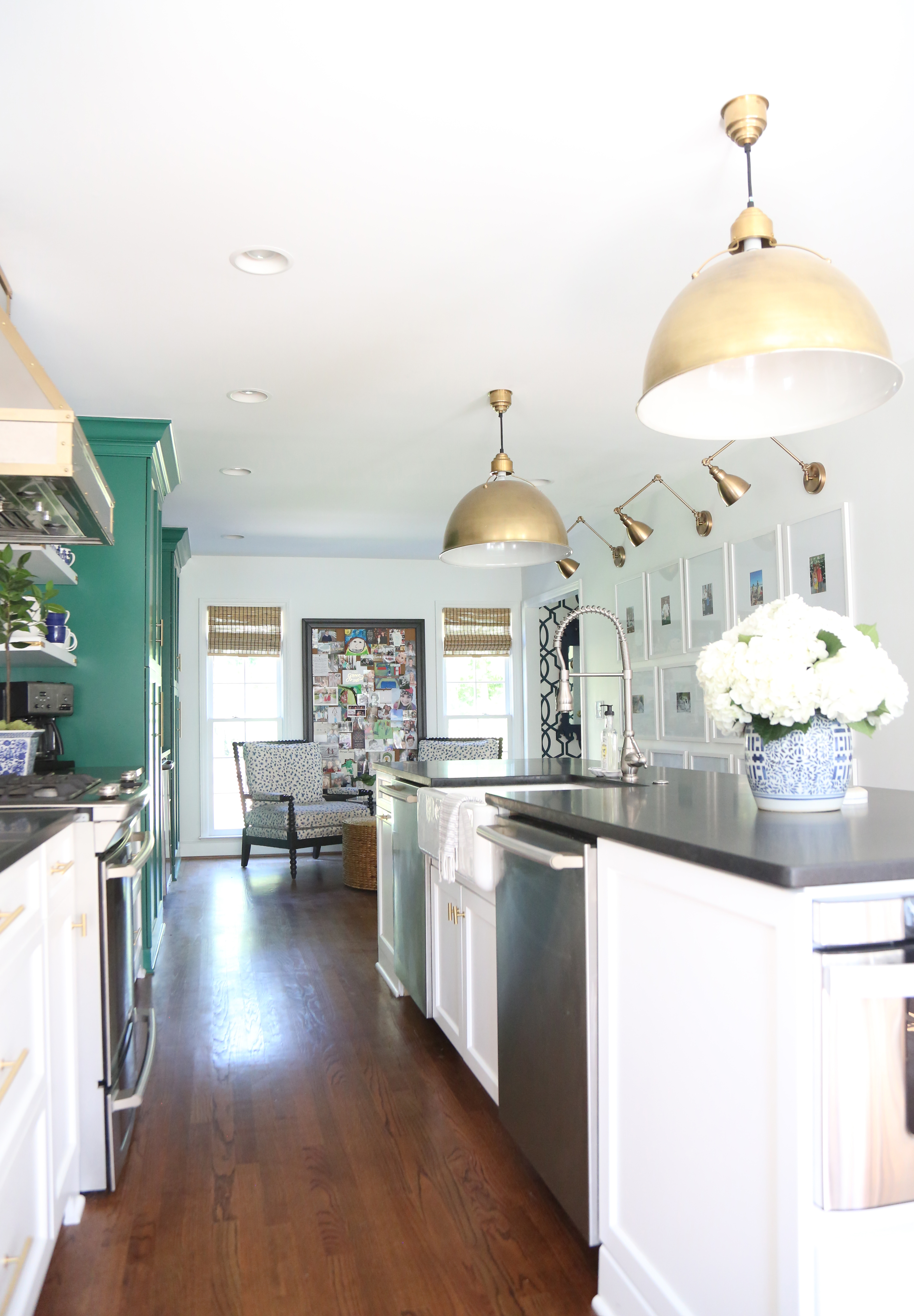 Our Green and White Kitchen Renovation - Emily A. Clark