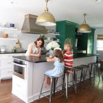 Our Green and White Kitchen Renovation