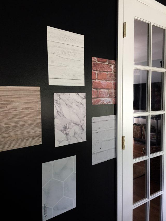 A Few Peel Stick Wallpaper Samples Emily A Clark