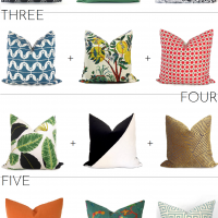 Pretty Pillow Pairings on Etsy