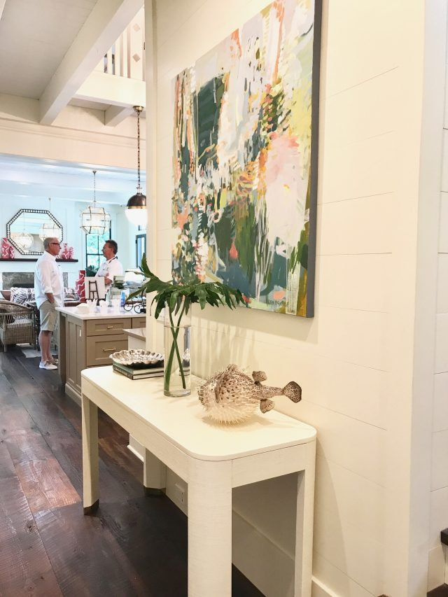 Southern LIving idea house console styling