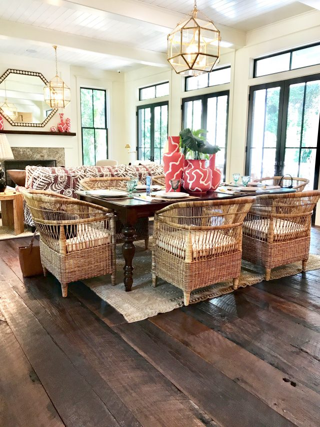 Idea House Dining Room Rattan Chairs