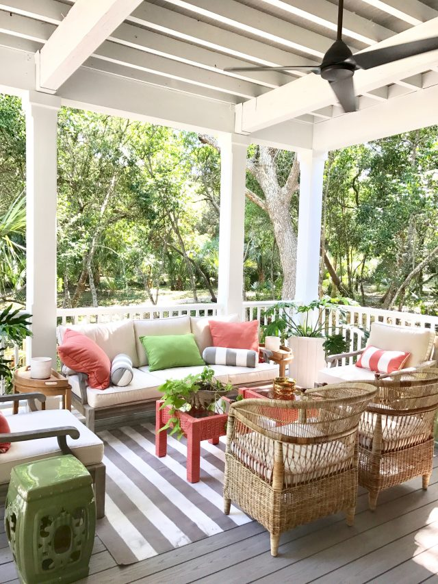 Southern Living Idea House Porch