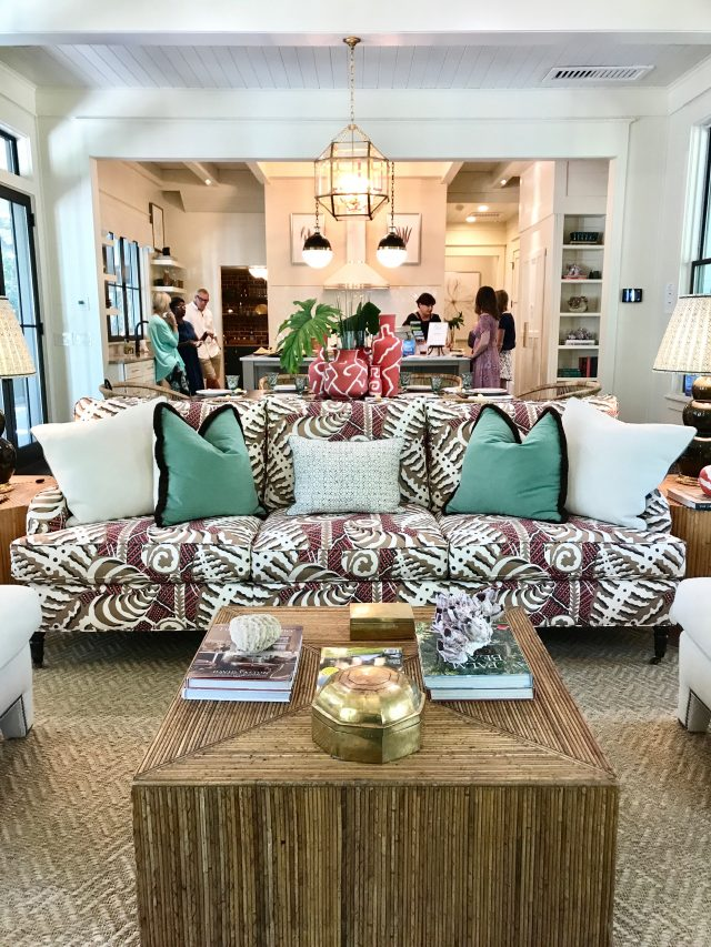 Southern Living idea house family room