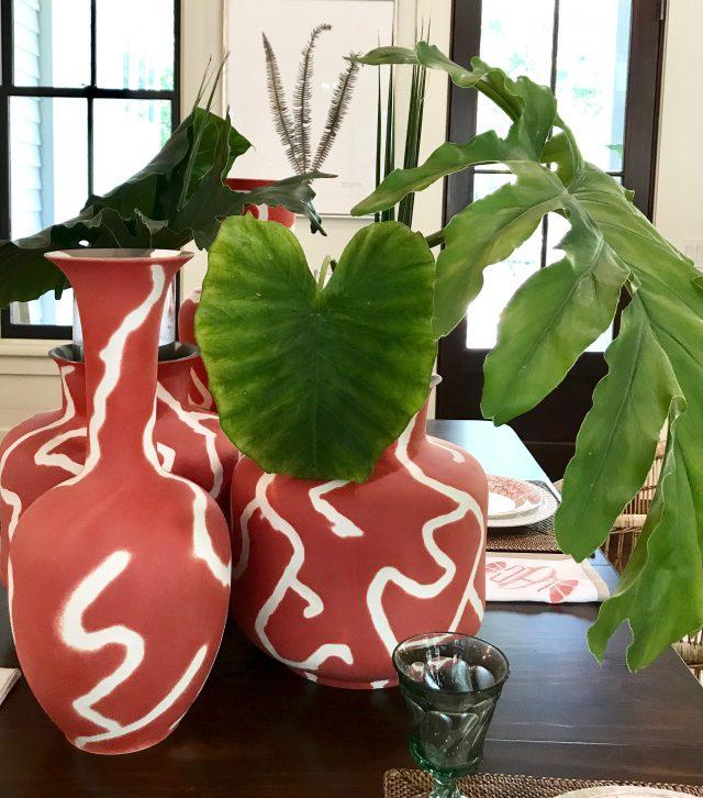 coral-vases-centerpiece