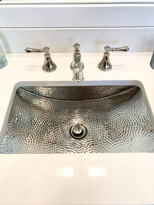 hammered-sink