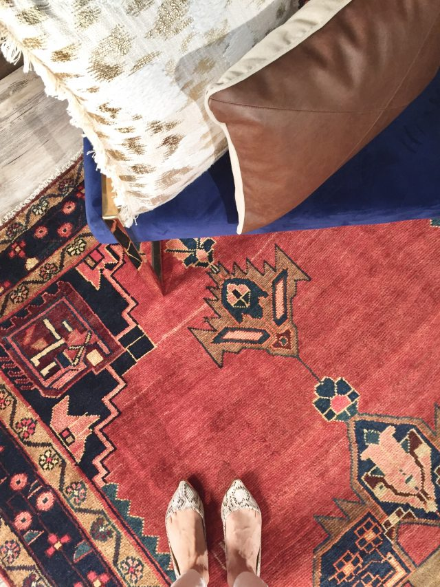 rug styling