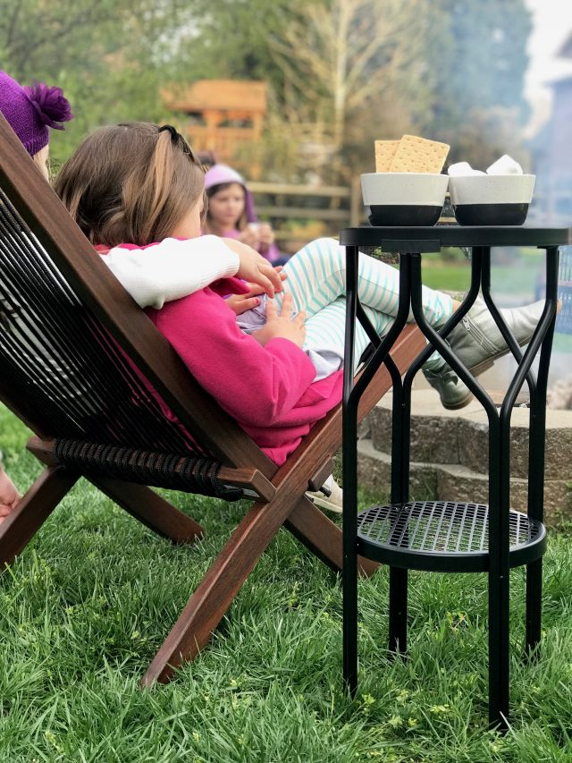 Fire Pit Family Nights with IKEA