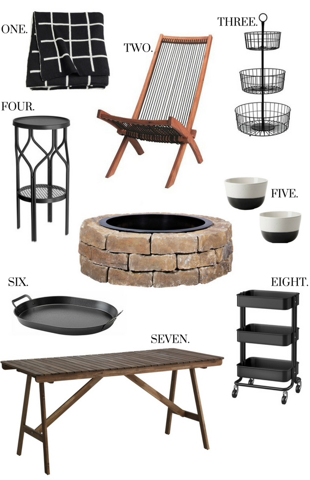 IKEA FIRE PIT ESSENTIALS
