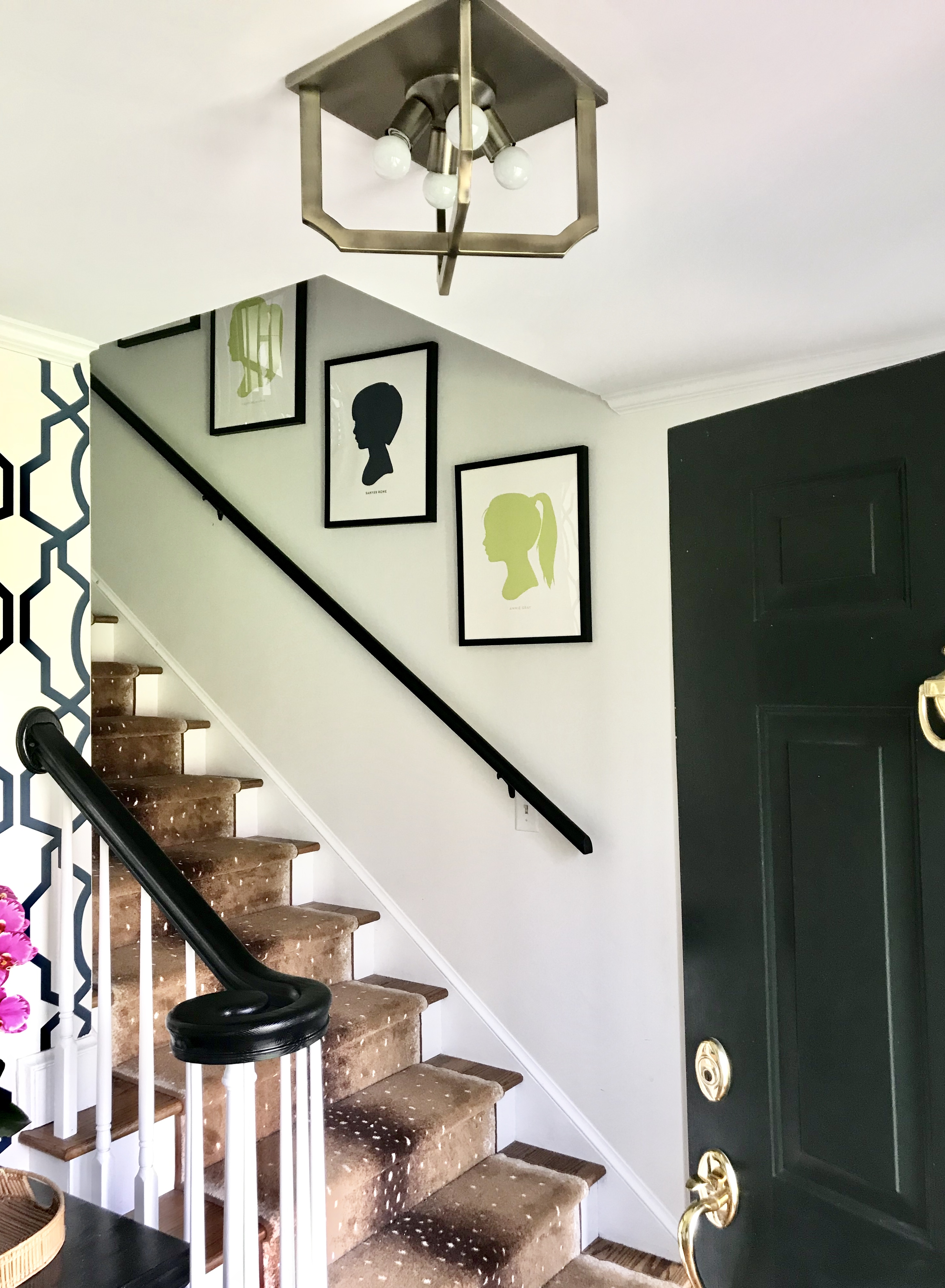 flush mount foyer lighting