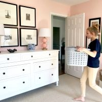 girls bedroom storage