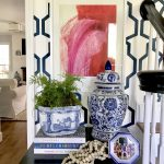 Pairing Art with Our Entryway Wallpaper