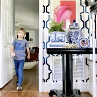 entryway-table-blue-white
