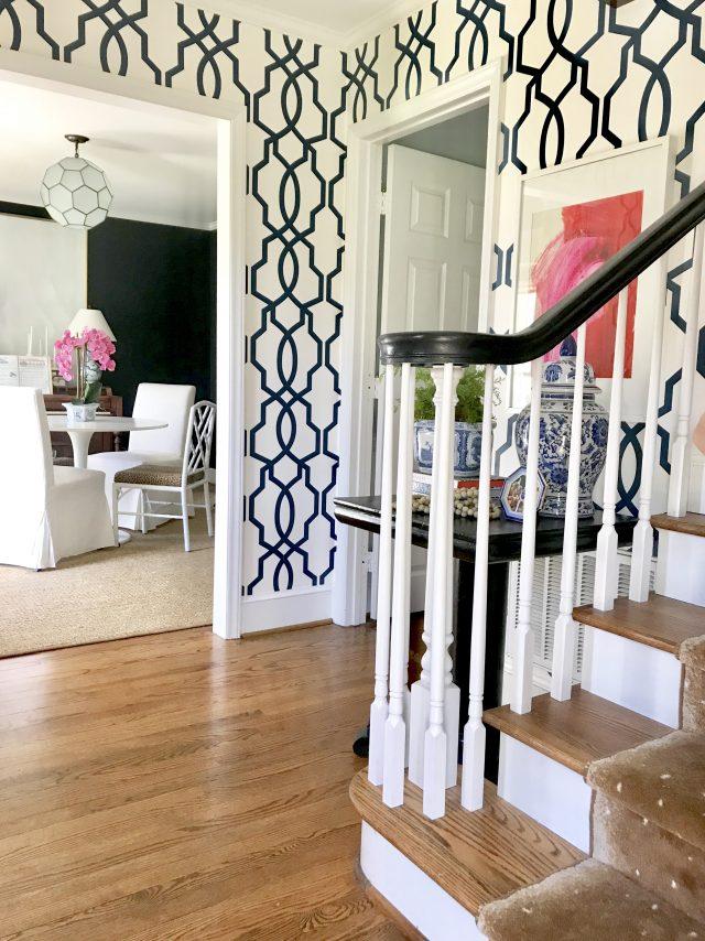 foyer-dining room