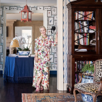 Scaling Down the Design: An Eclectic Entryway
