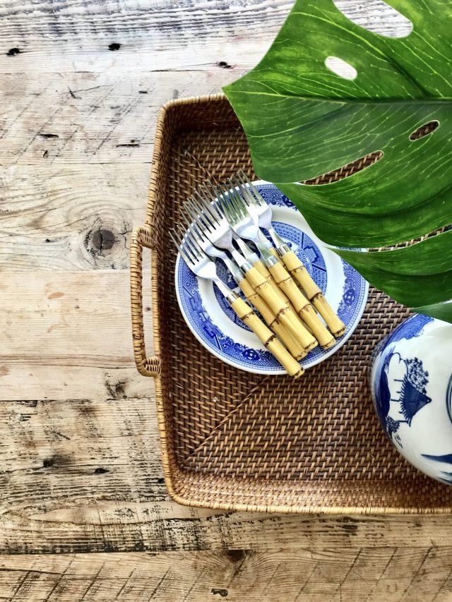 bamboo-flatware