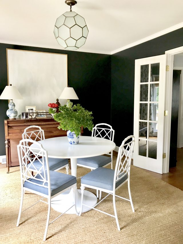 Chippendale Faux Bamboo Dining Chairs Update