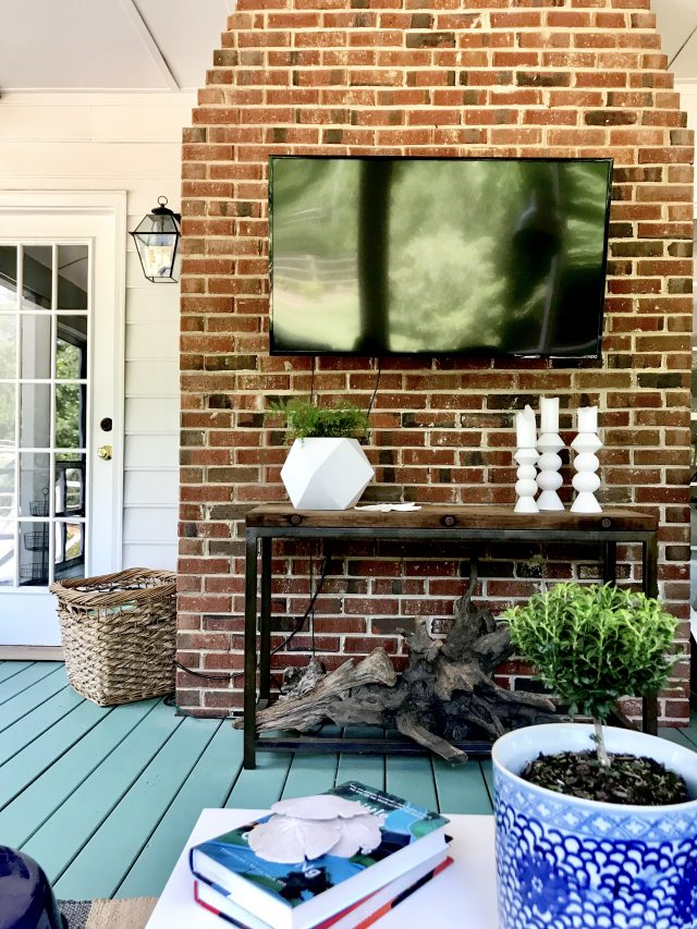 Outdoor Tv Porch