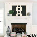 3 Easy Mantel Decorating Ideas Using Art