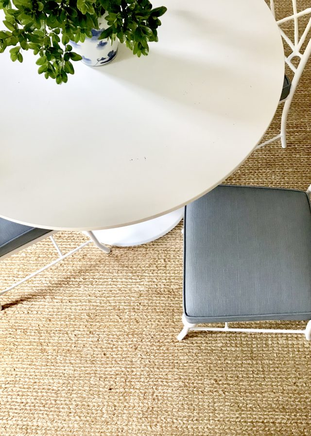 vinyl-blue-linen-look-fabric-dining-chairs