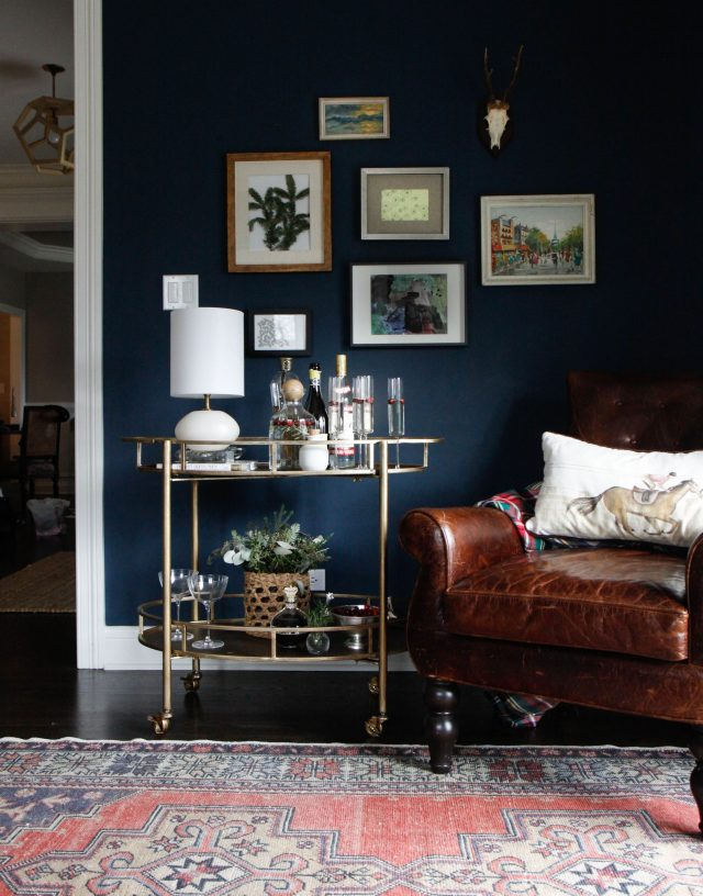 Fall Decorating Color Forecast: All Things Indigo Blue