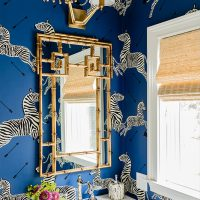 powder room wallpaper peel and stick picks